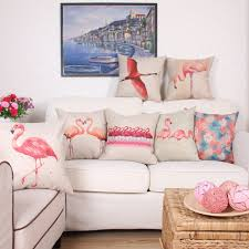 taie d oreiller pour canapé literie coussin couverture flamingo conception taie d oreiller pour