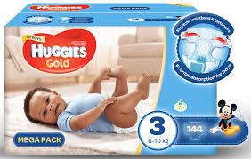 huggies gold specials huggies gold boy size 3 144 nappies buy online in south