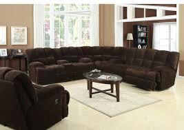 Soft Sectional Sofa Acme 50475 76 78 3 Pc Ahearn Chocolate Chion Soft