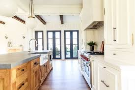 are painted or stained kitchen cabinets in style kitchen cabinet trend painted perimeter cabinet with