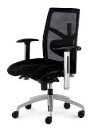 fauteuil bureautique siège de bureau ergonomique confortable en tissu noir nantes