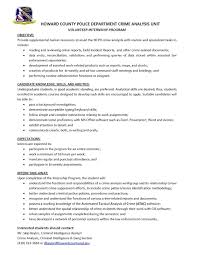 Promotional Resume Sample by Police Promotional Resume Sample George Tucker Resume