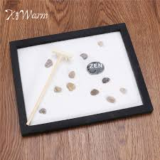 Tabletop Rock Garden Kiwarm Classic Zen Garden Sand Kit Tabletop Meditation Sand