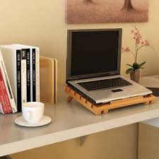 Furinno Bamboo Notebook Cooling Desk Tray Fncj 33027 Products