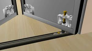 how to install renin u0027s sliding bifold mirror closet door youtube
