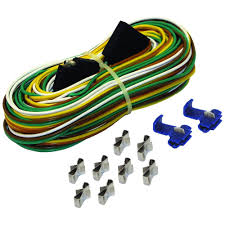 25 ft trailer wire harness with full ground br59373 the home depot