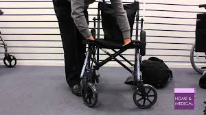 Transport Chairs Lightweight Using A Travelite Lightweight Folding Travel Wheelchair In A Bag