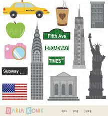 New York travel set images Best 25 new york scrapbooking ideas clipart images jpg