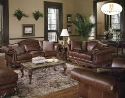 Living Room Ideas With Leather Sofa Decor Ideas For Living Room With Brown Leather Furniture Home