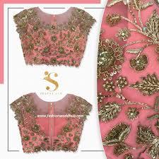 designer blouses trending designer blouses from swapna rao designer fashionworldhub