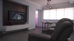 interior design singapore a modest home by 3d innovations youtube