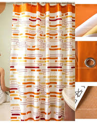 oval shower curtain ring orange shower curtain size 1280 960 red