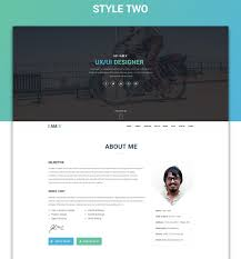 Bd Jobs Resume Format by I Am X Freebie Web Resume Template Psd Html On Behance