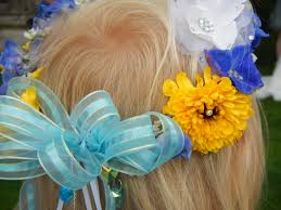flower decoration for hair free images plant petal blue clothing yellow wedding