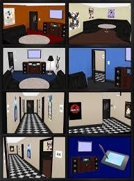 karaoke room hallway models for comipo by metalraptor on