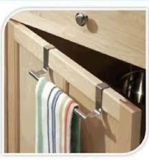kitchen cabinet towel rack over cabinet tea towel bar door holder rack bathroom hanger kitchen