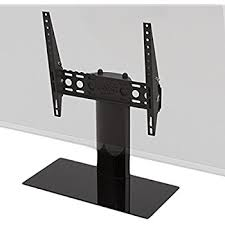universal table top stand amazon com avf b601bb a universal table top tv stand tv base