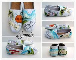 wedding shoes toms s wedding story painted toms custom wedding shoes bridal