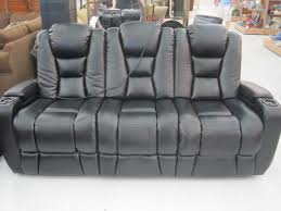 sofa with center console homelegance marille double reclining sofa