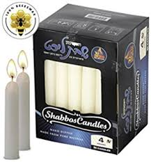 yehuda shabbos candles 1 day beeswax yahrzeit memorial candle in glass cup