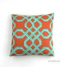 Lilly Pulitzer Furniture by Pulitzer Well Connected Aqua Orange