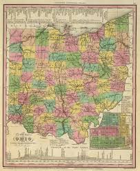 Map Of Southwest Ohio Old Historical City County And State Maps Of Ohio