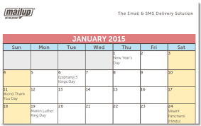 a 2015 editorial calendar template for savvy email marketers