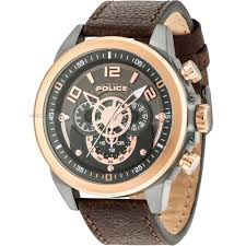men u0027s police belmont watch 15036jsur 61 watch shop com