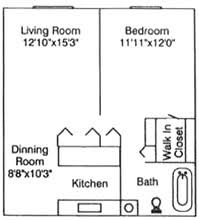Woodhaven Floor Plan Woodhaven Square Apartments Woodhaven Mi Apartment Finder