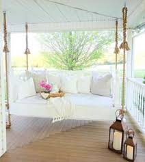 swing bed front porch christmas holiday pinterest swing beds