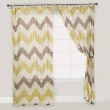 decorating nice gray chevron curtains with bali shades and dark interesting interior home decor with gray chevron curtains and cheap curtain rods plus white baseboard