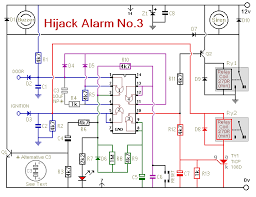how to build an anti hijack vehicle alarm