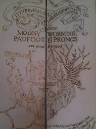 Harry Potter Marauders Map Diy Mini Harry Potter Marauder U0027s Map By Yumjum On Deviantart