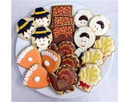 thanksgiving sugar cookie gift tin