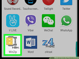 how to open zip files on android how to open zip files on android 13 steps with pictures