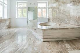 Floor Porcelain Tiles Marble Vs Porcelain Tile Flooring Pros Cons Comparisons And Costs