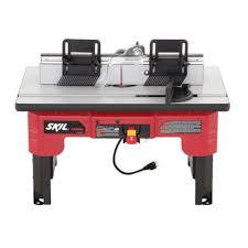 Skil Table Saw Skil Router Table With Folding Leg Design And Tall Fence Design