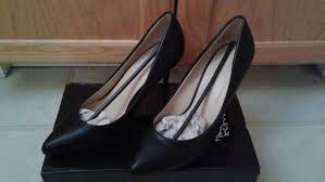 Black Pointed Toe 3 Inch Heels Size 8