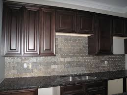 tiles backsplash gray tile back splash with dark brown wooden
