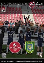 Sv Bad Rothenfelde Stadionecho Sc Melle 03 Gegen Tus Pewsum Fussball Landesliga Weser U2026