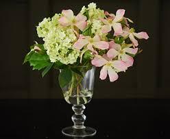 Dog Flower Arrangement Guelder And Dog Roses Arrangement Bloom Artificial Flowers