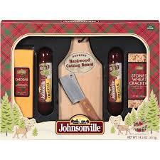 johnsonville sausage cheese paddleboard gift set walmart