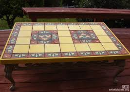 ceramic tile table top ceramic tile top kitchen table google search ceramic tables