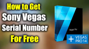 sony vegas pro 14 serial number for free free download 32 bit