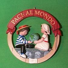 peace on earth hallmark ornaments