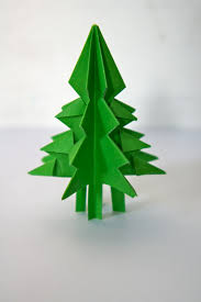 ideas from the forest folding christmas trees