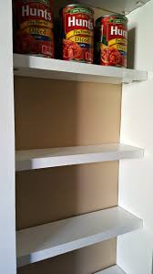 Shelves Between Studs by Pantry Between The Studs Live From Julie U0027s House
