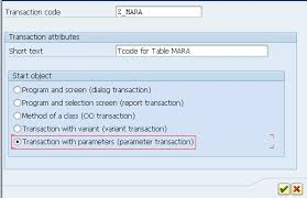 sap t code description table sap matrix how to create transaction code for table
