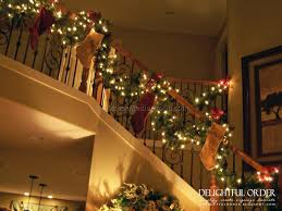 Christmas Railing Decorations Christmas Staircase Ideas 2 Best Staircase Ideas Design Spiral