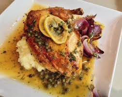 roasted chicken piccata soffia wardy